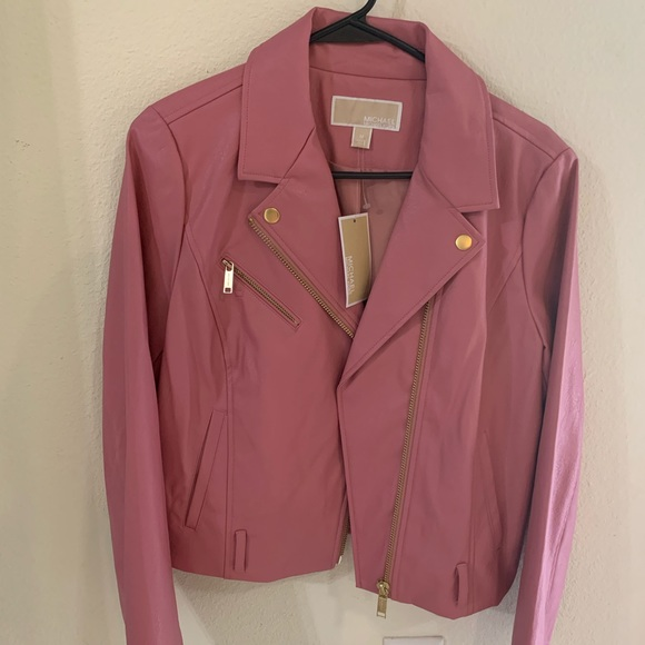 Michael Kors Jackets & Blazers - Michael Kors pleather jacket